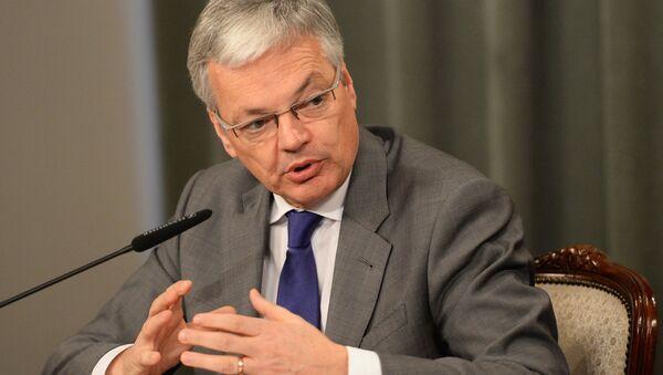 Didier Reynders, ministro de Exteriores de Bélgica - Sputnik Mundo